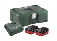 Metabo Basic-Set 2x LiHD 8,0 Ah + ASC Ultra + Metaloc 685131000